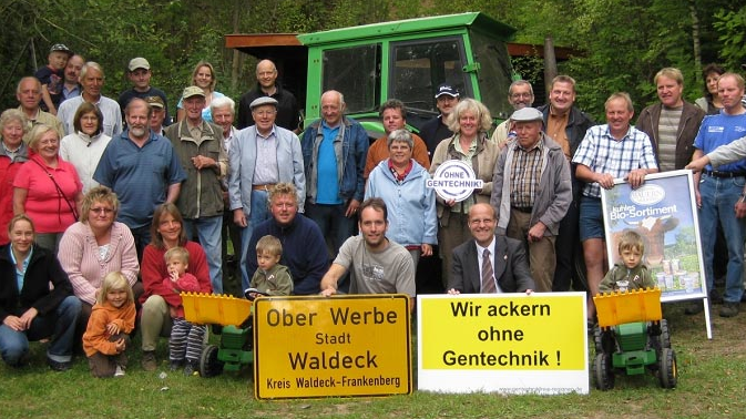 Initiative Gentechnikfreies Wolfhagen. Foto: Initiative Gentechnikfreies Wolfhagen